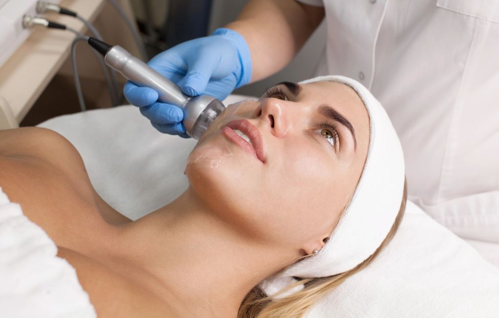 skin tightening radio frequency for skin tighten  facial treatment at spa weston florida
