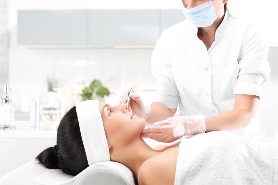 microneedling facial with stem cells serum at spa weston