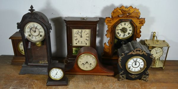19th and 20th Century Clocks Sold by Antyke.