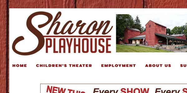 Sharon Playhouse 2018 Season, Sharon CT, Summerstock Theater
