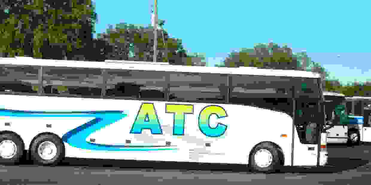 Avalos Transportation Company Inc ATC Charter Bus Rental Transportation in Orlando Florida USA