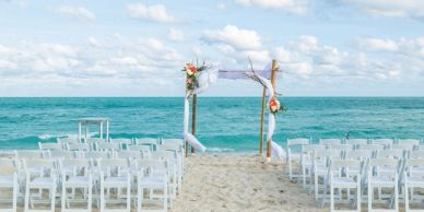 Wedding at the Beach or venues in Tampa Florida shuttle wedding transportation service on charters