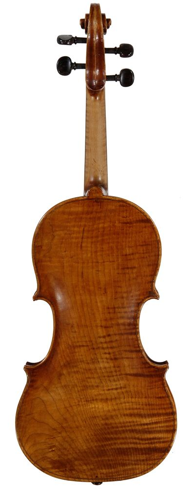 "The back of Opus 730, 1610 Amati ""Blanche Moyse"""