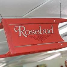 Sign for retail purchase at Rosebud Antique Mall