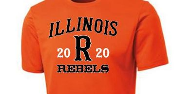 Illinois Rebels Spirit Wear Eich's Sports On-line Orders t-shirts