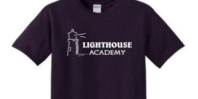 Lighthouse Academy Spirt Wear Eich's Sports On-line ordering custom t-shirts