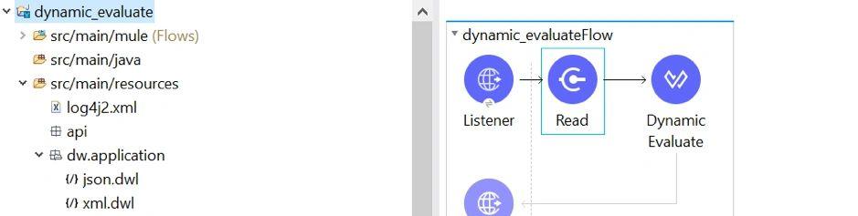 Dynamic Evaluate in Mule 4