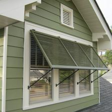 Constructed similar to these Bahama shutters WoodAirGrille.com offers Wood Return Air Vents