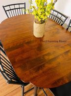 stripped and stained, table, dining table, kitchen table, table tops, solid wood, painted table