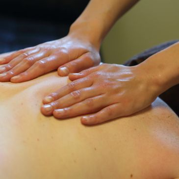 Back Massage at East Village Spa