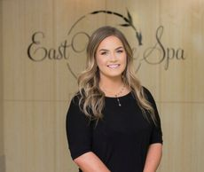 Sierra Johnson, (she/her) esthetician on call at East Village Spa