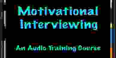 Cover image of the Motivational Interviewing audio training course.