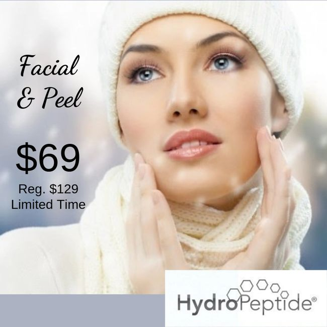 Facial with Chemical Peel. Helps Acne, Pigment, Wrinkles and Hydration