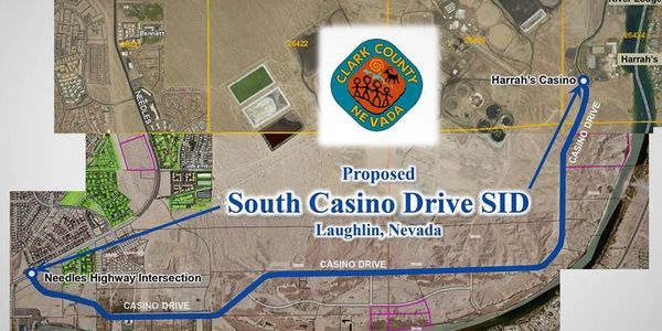 Casino Drive SID in Laughlin, NV
