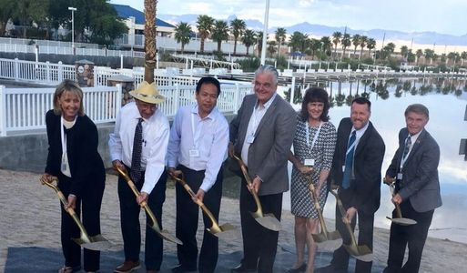 Laughlin Lagoon Dredging Project Groundbreaking