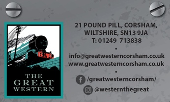 The Great Western - Cosham, Wiltshire