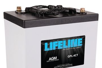 AGM Batteries from Lifeline, NorthStar, etc.  Lithium Batteries from Battle Born, Spirit, etc.