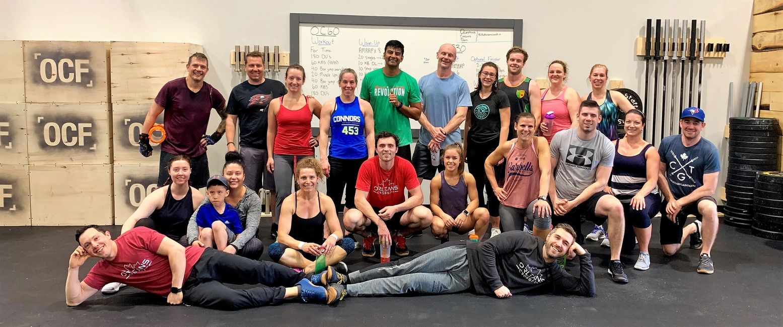 orleans crossfit community, group training, ottawa crossfit