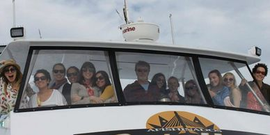 Enjoy Catalina aboard Catallac with your friends.