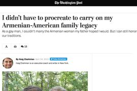 The Washington Post I didn't have to procreate to carry on my Armenian-American family legacy