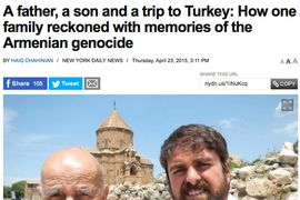 New York Daily News A father, a son and a trip to Turkey