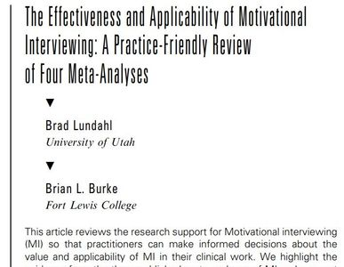 motivational interviewing, motivational interviewing training