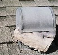 Dryer Vent On the Roof