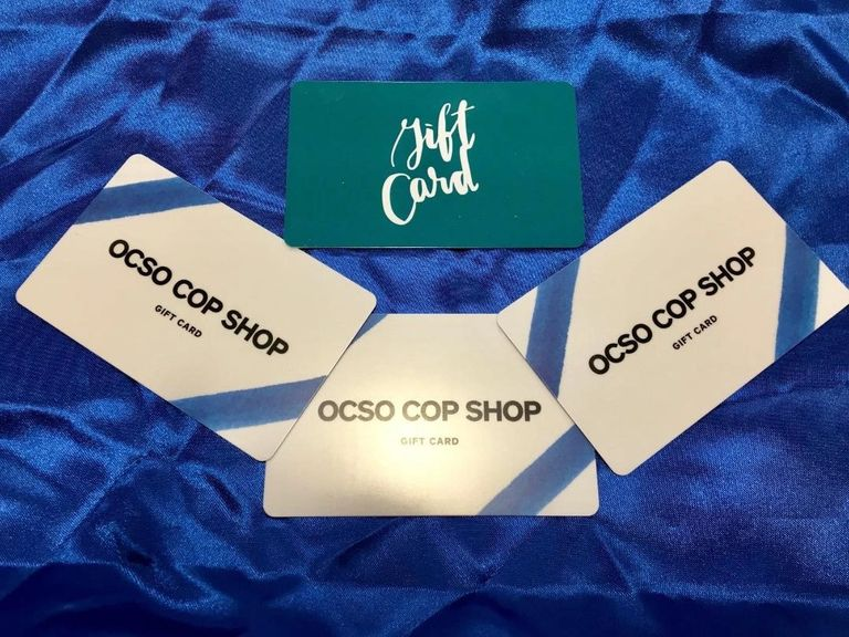 OCSO Cop Shop gift card