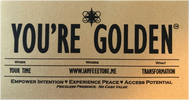 Activate YOU'RE GOLDEN Ticket by listening to this month's HeartSpa™ Song Accelerator