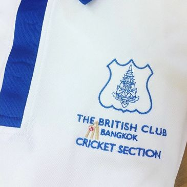 embroidered cricket clothing