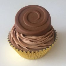 Chocolate biscuit Cupcake by Poppy's Cupcakes.