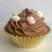 Rocky road Cupcake by Poppy's Cupcakes in London.