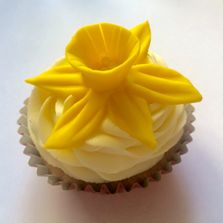 Easter Cupcake by Poppy's Cupcakes in London.