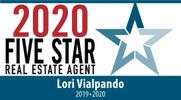 Five Star Real Estate Agent 2020