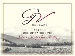 Rose of sangiovese label