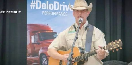 Bill Weaver is a truck driver that can sing. We like him. Check him out at wwwbillweavermusic.com