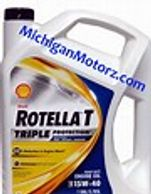 Use 15W-40 motor oil in your hydraulic system
