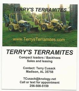 Terrys Terramites Business card