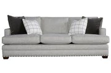 transitional nail head sofa