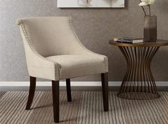 Madison Park FPF18-0497 Caitlyn Roll Back Accent Chair