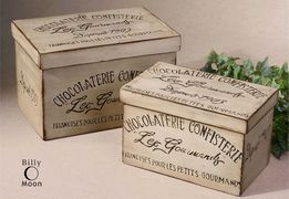 Uttermost 19300 Chocolaterie Boxes
