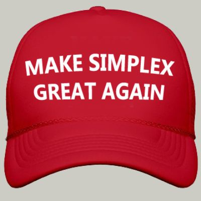 Image result for make simplex great again cap