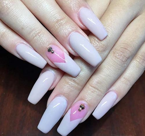 2019 Top 49 Acrylic Nail Designs
