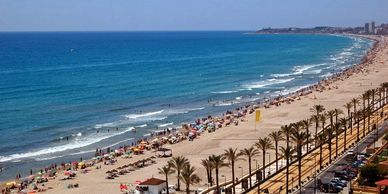 El Campello holiday rentals, long term rentals, winter rents