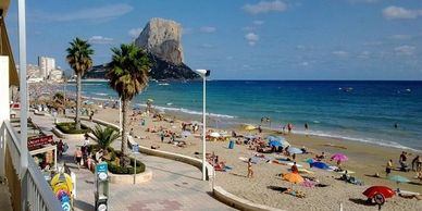 Calpe holiday rentals, long term rentals, winter rentals