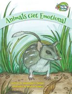 Animals Get Emotional helps teach emotions and dealing with feelings.  It's an ABC kids animal book