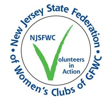New Jersey State Federation of Women's Clubs of GFWC Logo