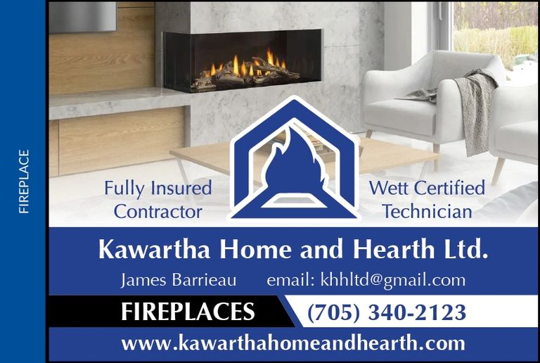 best fireplace shop  Bobcaygeon fireplace  wood stove install Installation