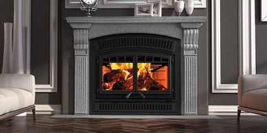 Ventis HE350 wood fireplace fireplaces fireplace store wood fireplace