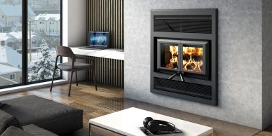 Ventis HE325 wood fireplace fireplace store near me fireplaces in Bobcaygeon fireplaces